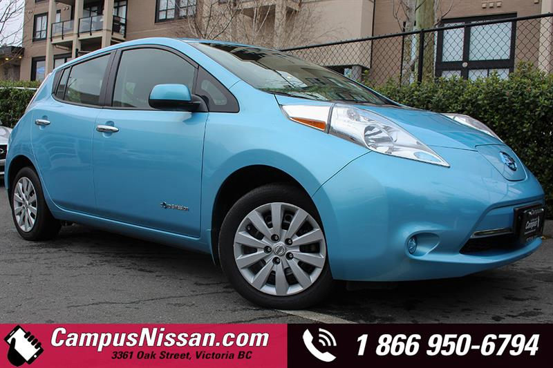 2015 Nissan Leaf S w/ QUICK CHARGE  #JN2788