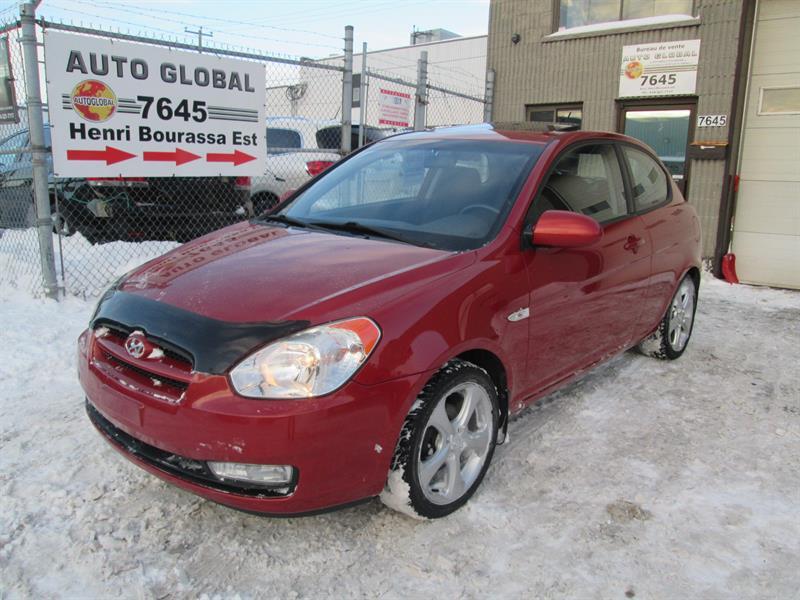 Hyundai Accent 2008 3dr HB,TOIT OUVRANT,MAGS,GR-ÉLECTRIQUE,TRÉS PROPRE #17-12666