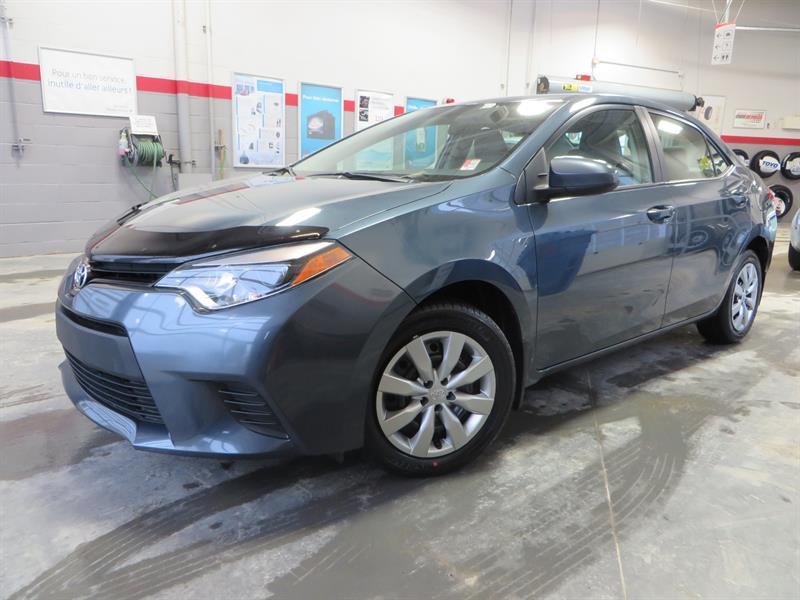 Toyota Corolla 2014 LE Gr:A *GARANTIE PROLONGÉE* #U7686