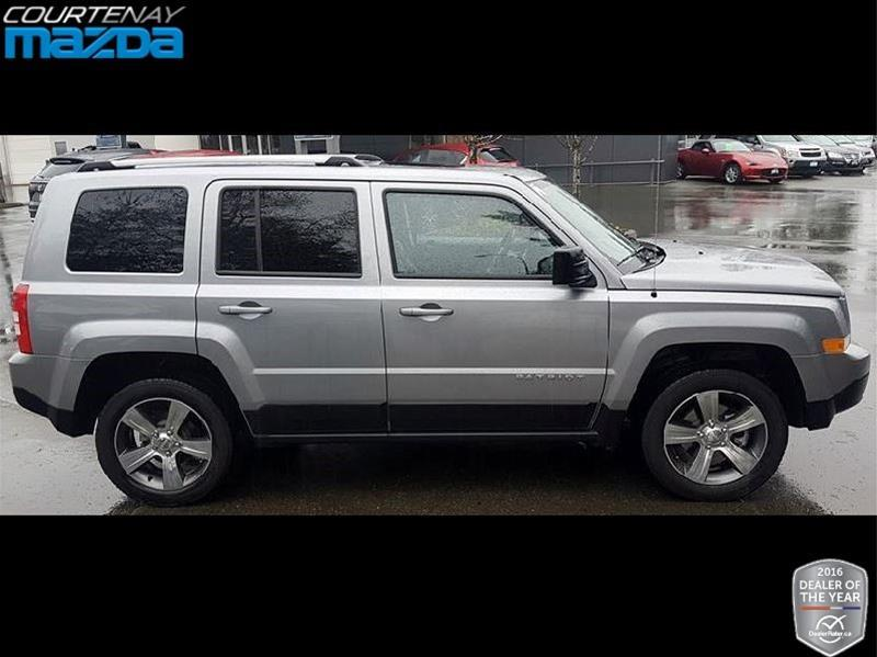 2017 jeep patriot 4x4 sport north used for sale in courtenay at courtenay mazda. Black Bedroom Furniture Sets. Home Design Ideas