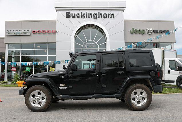 Jeep Wrangler Unlimited 2015 Sahara #J17137A