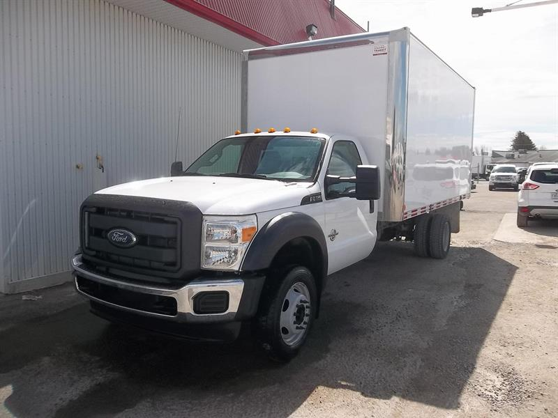 Ford F-550 16 PIEDS 2015 XL (CUBE/FOURGON)