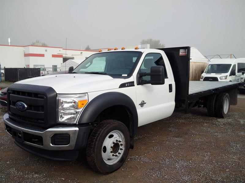 Ford F-550 16 PIEDS 2015 XL (PLATE-FORME)
