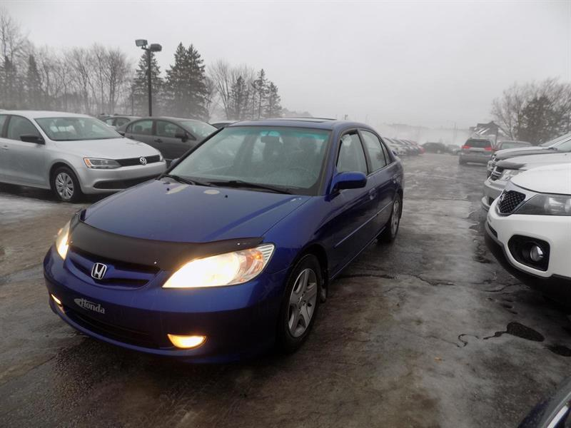 Honda Civic Sdn 2005 Si #PATTE938