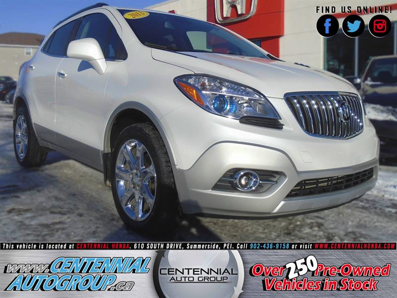 2013 Buick Encore Leather Interior | 1.4L | i4-Cyl | Moonroof #8982A