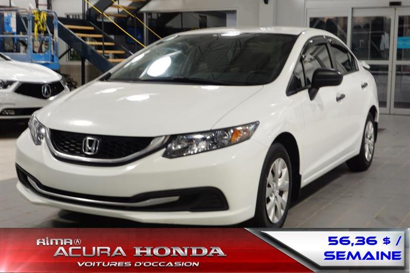 Honda Civic 2014 DX #A3086