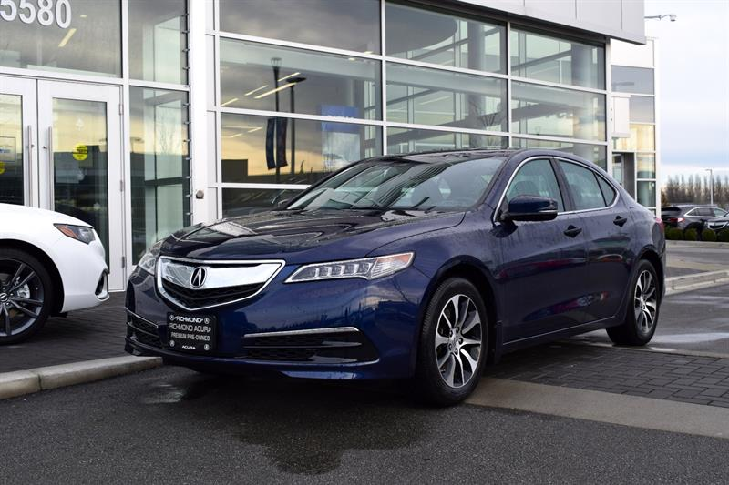 2015 Acura TLX 4dr Sdn FWD Tech Bluetooth Camera Sunroof #P5854