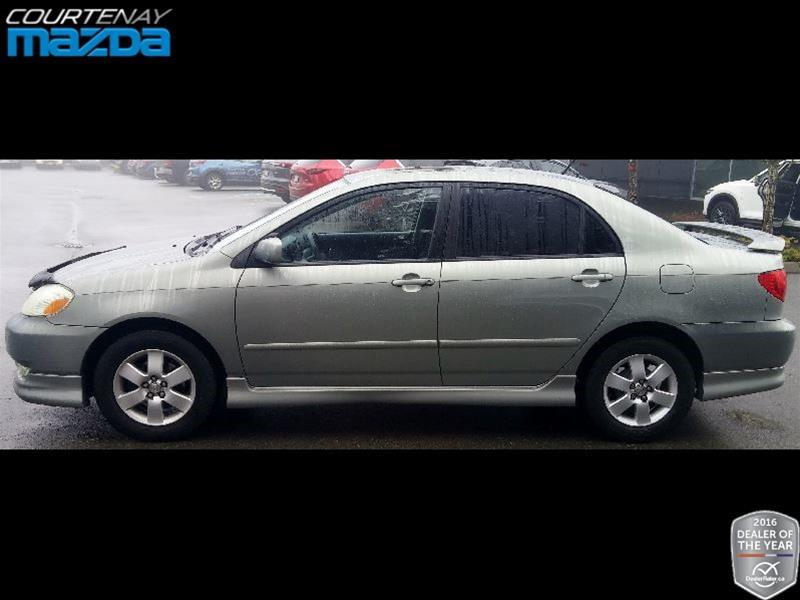 2004 toyota corolla 4 door sedan sport 4a used for sale in. Black Bedroom Furniture Sets. Home Design Ideas
