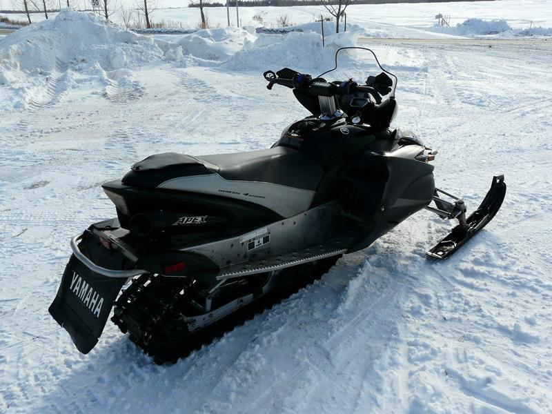 Yamaha apex eps 2011 occasion vendre saint casimir chez for Miroir yamaha apex