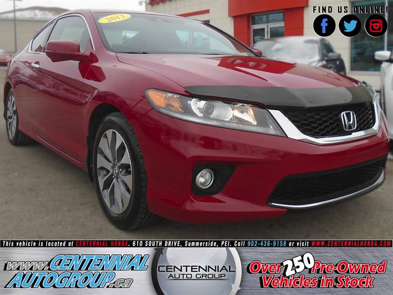 2013 Honda Accord Coupe EX-L w/ Navi | 2.4L | i4-Cyl | Bluetooth #8980B