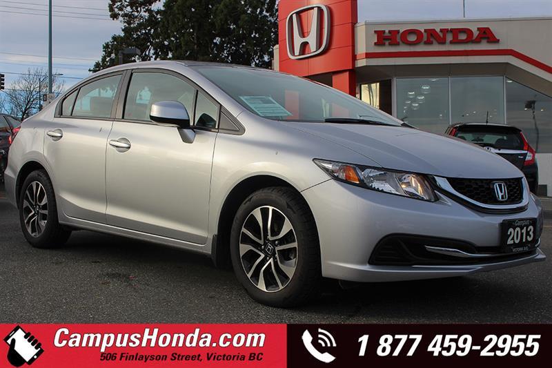 2013 Honda Civic Sdn EX 4DR Bluetooth #18-0161A