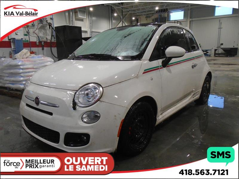 Fiat 500 2012 SPORT* TOIT OUVRANT* MAGS* DÉMARREUR* BLUETOOTH* #V180177A