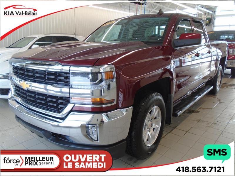 Chevrolet Silverado 1500 2016 4WD DOUBLE CAB LT* 4X4* HITCH* CAMÉRA* SIÈGES CHAU #VU058