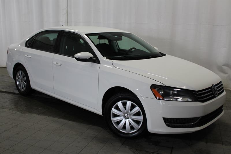 Volkswagen Passat 2012 Trendline 2.5 6sp at w/ Tip #18-0370A