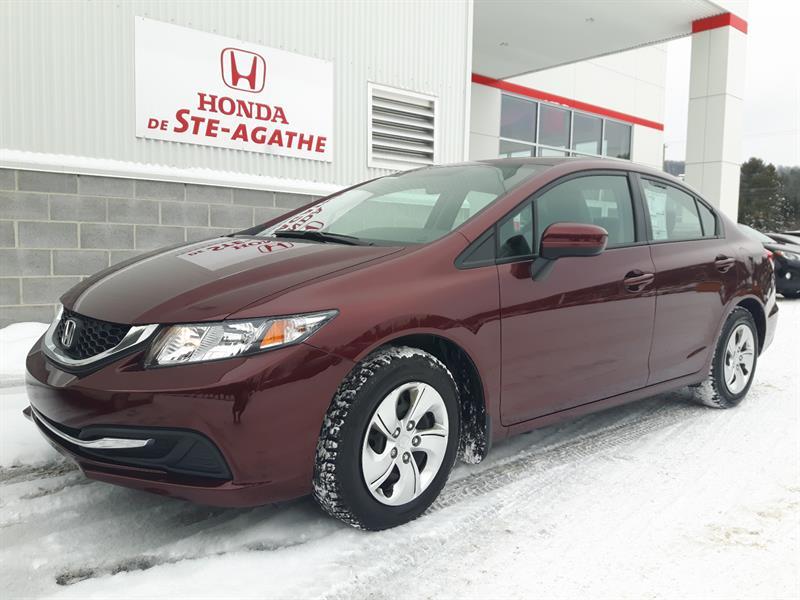 Honda Civic 2014 LX *avec Honda Plus sept 2019 ou 100 000km*** #p9331