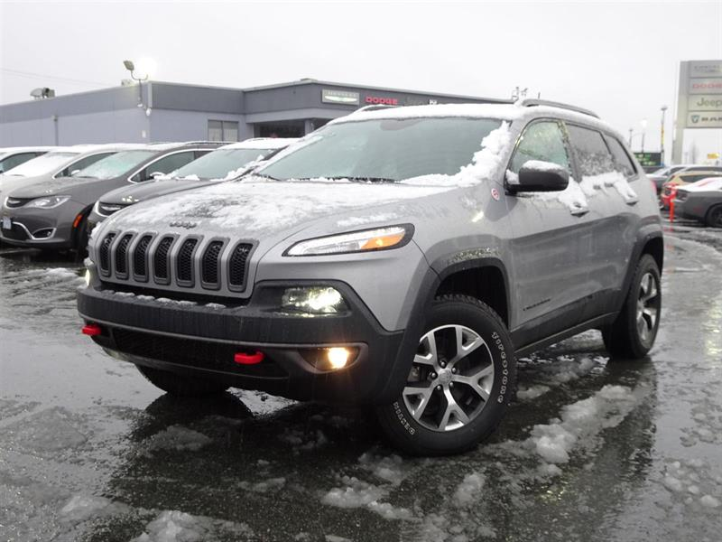 2017 Jeep Cherokee Trailhawk #17UP508