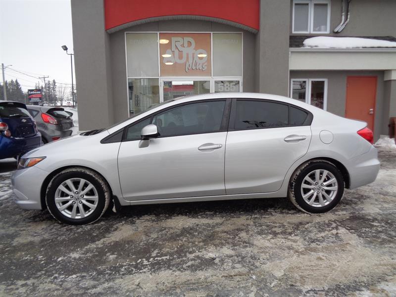 Honda Civic 2012 4dr Auto EX ***TOIT***MAG*** #9474