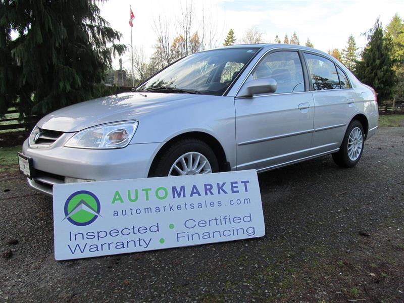 2003 Acura EL AUTO, LEATHER FREE WARRANTY, INSPECTED #21418