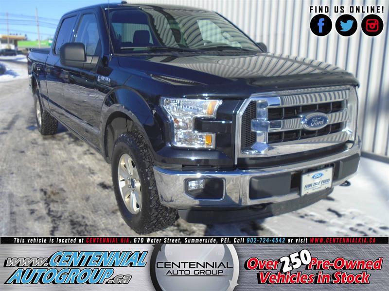 2015 Ford F-150 XLT | 4WD | 5.0L | V8 | SuperCrew 157 #N1485D