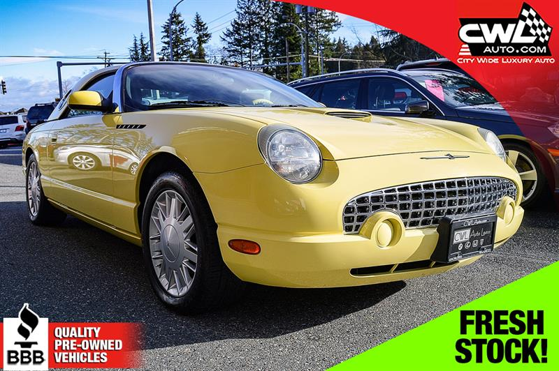 2002 Ford Thunderbird 2Dr Convertible w/ Hardtop  #CWL8272M