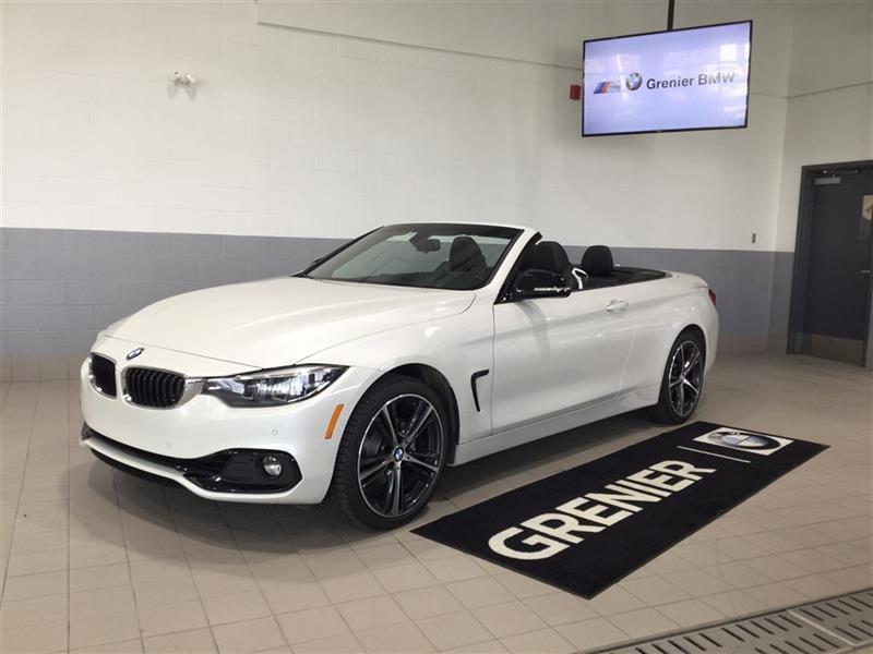 2018 BMW 430i xDrive PREMIUM ESSENTIEL SPORTLINE CABRIOLET #170201B