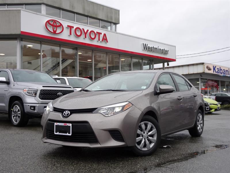 2014 Toyota Corolla LE #P6451T