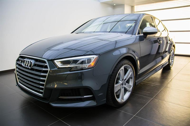 Audi S3 Nano grey solid paint 2017