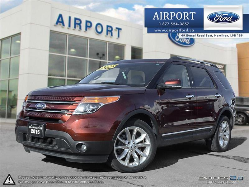 2015 Ford Explorer Limited 4WD 3.5L with only 28,286 kms #0HL978