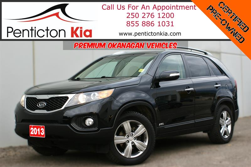 2013 Kia Sorento EX V-6 - Sunroof, Heated Seats #17PK54