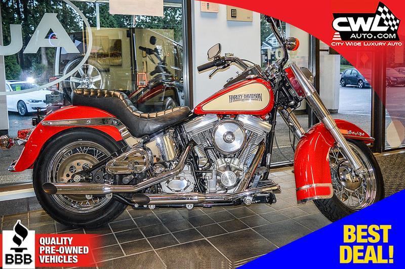 1986 Harley Davidson HERITAGE SOFTAIL ONLY 1800 KM'S !  #MJ123