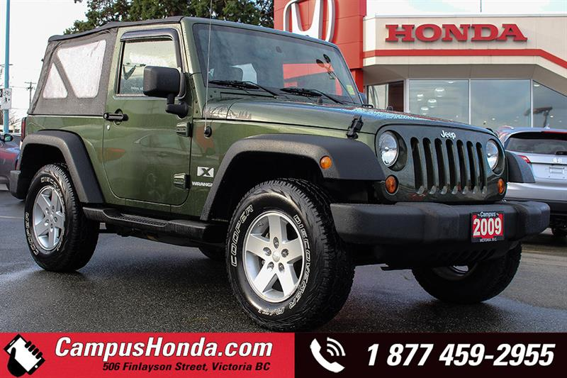 2009 Jeep Wrangler X 2DR 4WD Manual #18-0191A