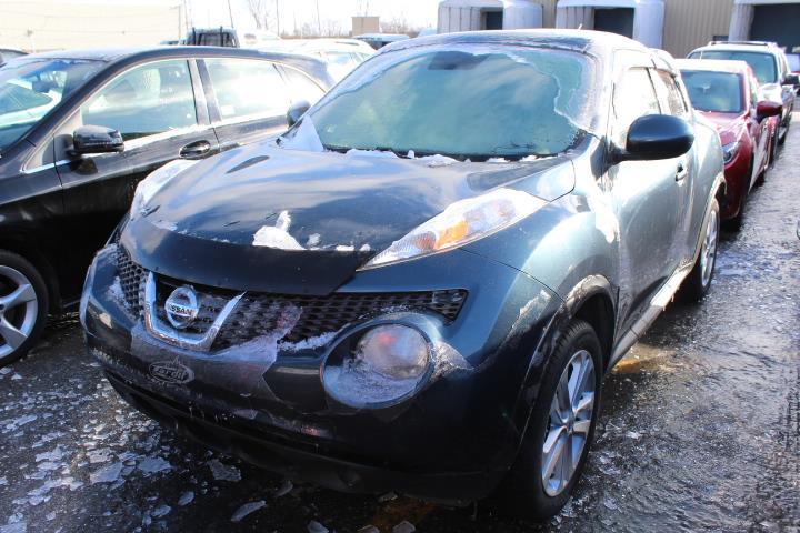 Nissan JUKE 2011 SV 4D Utility FWD 6sp #0000000630