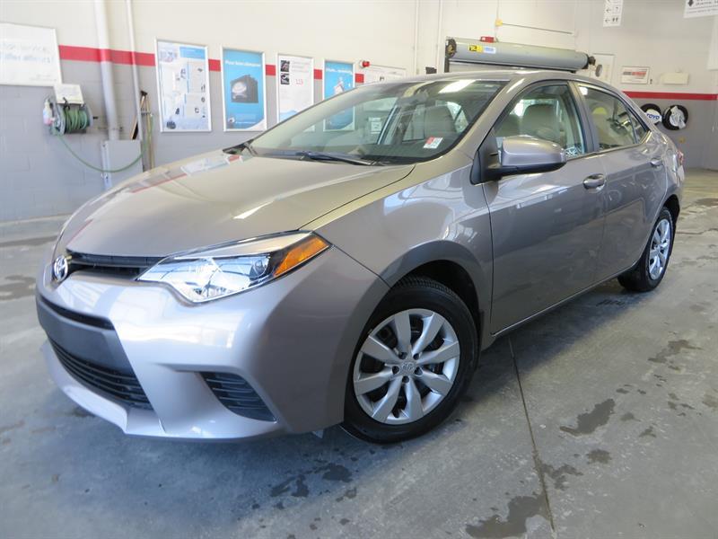 Toyota Corolla 2014 LE Gr:A *CAMÉRA + SIEGES CHAUFFANTS* #38141A