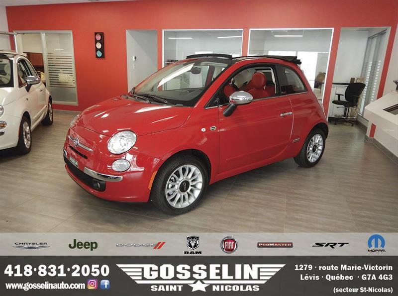 Fiat 500c 2016 Lounge *NEUF* #F0266