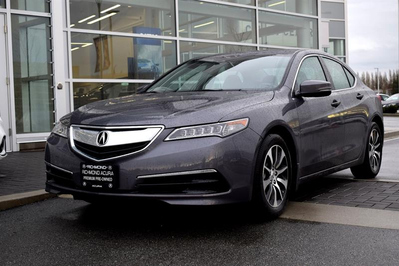 2017 Acura TLX 4dr Sdn FWD Tech Bluetooth Camera Sunroof #836693A