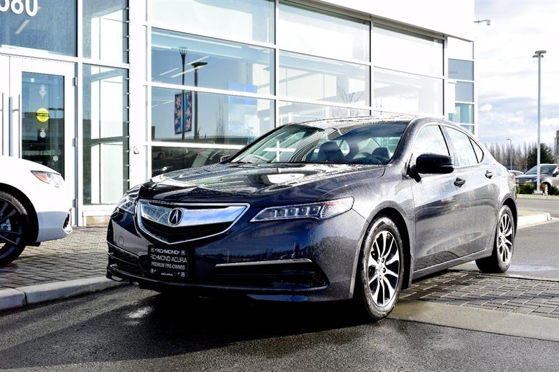 2016 Acura TLX 4dr Sdn FWD Tech Camera Sunroof Leather #P5862