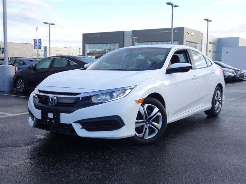 2017 Honda Civic Sedan LX CVT! Honda Certified Extended Warranty to #B12238