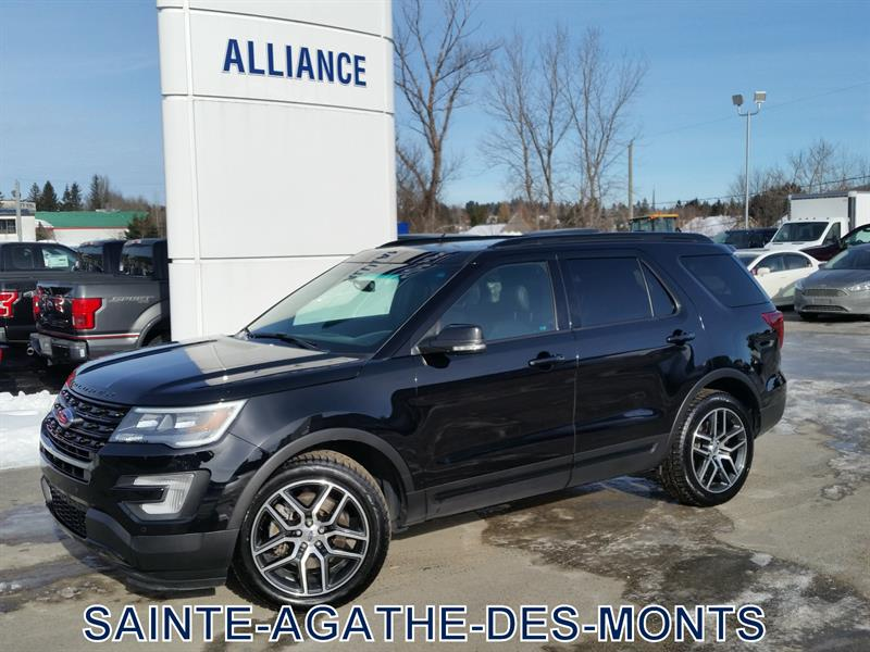 Ford Explorer 2017 AWD SPORT CUIR TOIT NAVIGATION 7 PASSAGERS #C2969