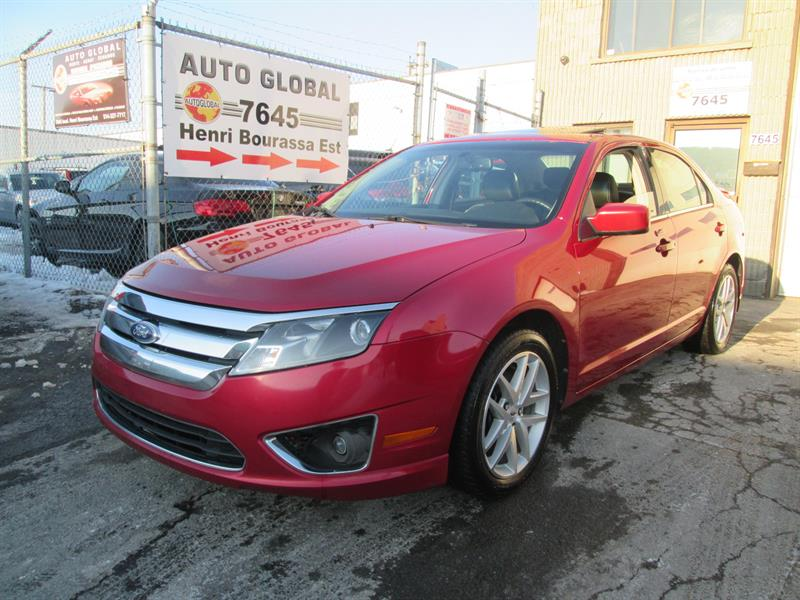 Ford Fusion 2011 4dr Sdn 4 CYL, SEL,AUTOMATIQUE,CUIR,TOIT,MAGS, #17-957NN