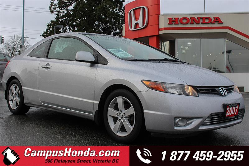 2007 Honda Civic Cpe LX 2DR Manual #17-0820A