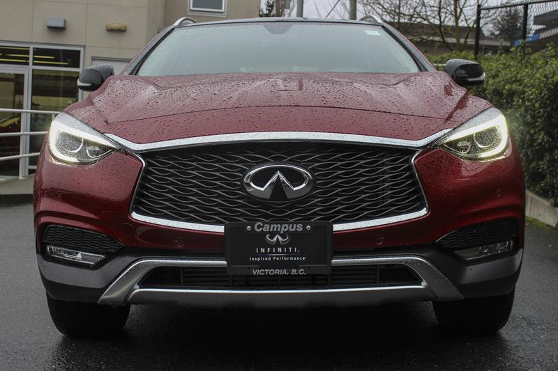 2017 infiniti qx30 base all wheel drive premium demonstrator for sale in victoria at campus acura. Black Bedroom Furniture Sets. Home Design Ideas