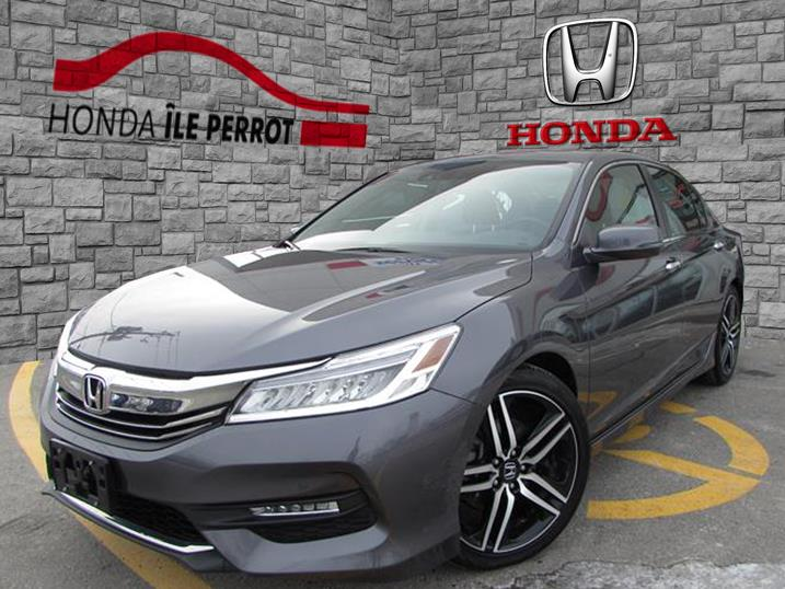 Honda Accord Sedan 2017 4dr I4 CVT Touring BLUETOOTH  #44335