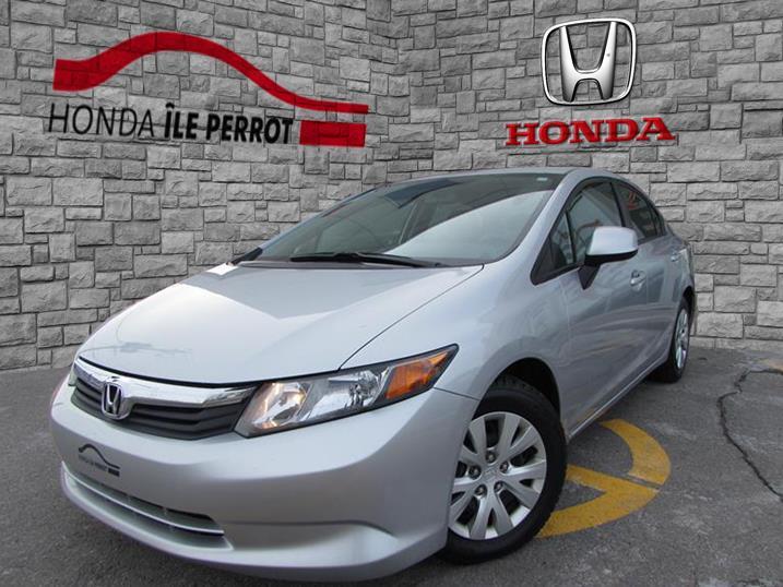Honda Civic Sdn 2012 4dr Auto LX BLUETOOTH #44345