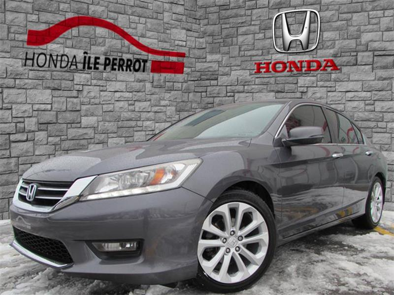 Honda Accord Sedan 2014 4dr I4 CVT Touring NAVI #318201-1