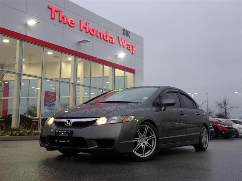 2009 Honda Civic LX-S Sedan 5-Speed AT #P5026A