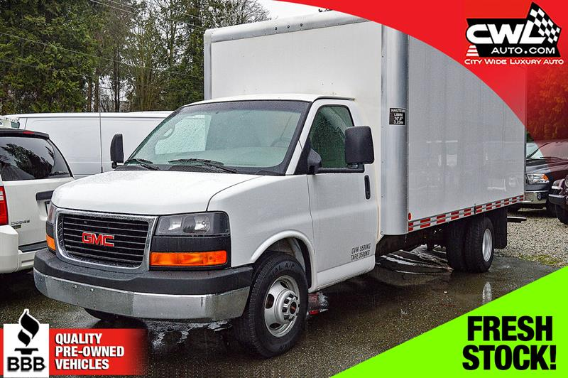 2011 GMC Savana Commercial Cutaway 3500 177 WB 16' BOX #CWL8276M