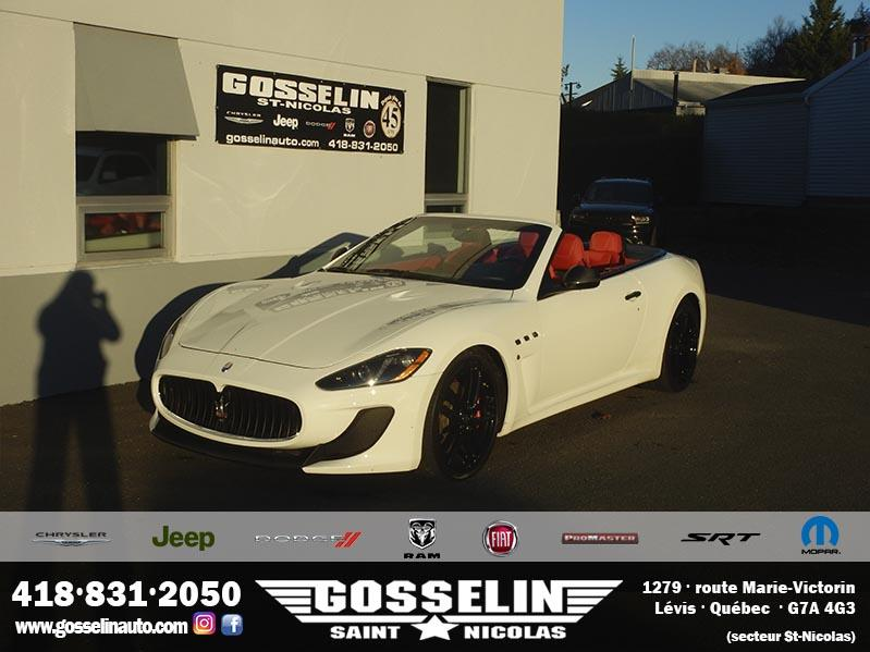 Maserati GranTurismo MC CONVERTIBLE 2016 ***CARBON PACK.*** #9640A