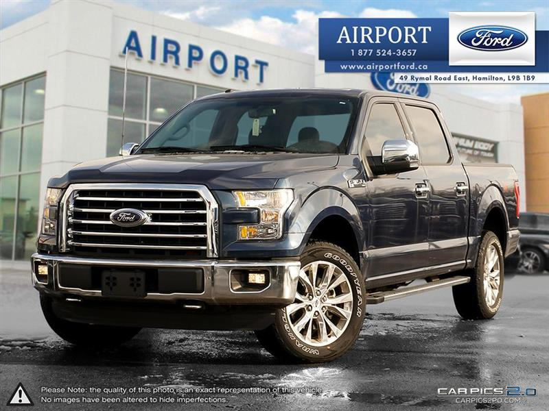 2016 Ford F-150 XLT 4x4 SuperCrew with only 5,988 kms #A80276