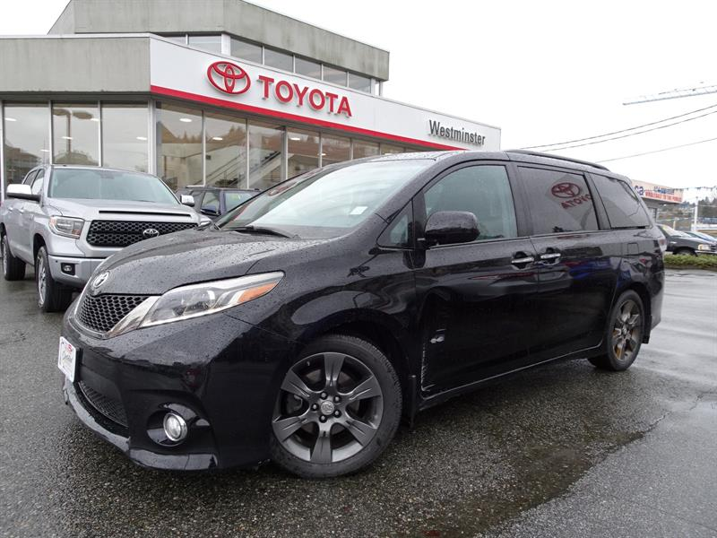 2016 Toyota Sienna SE Technology Package #P6437T