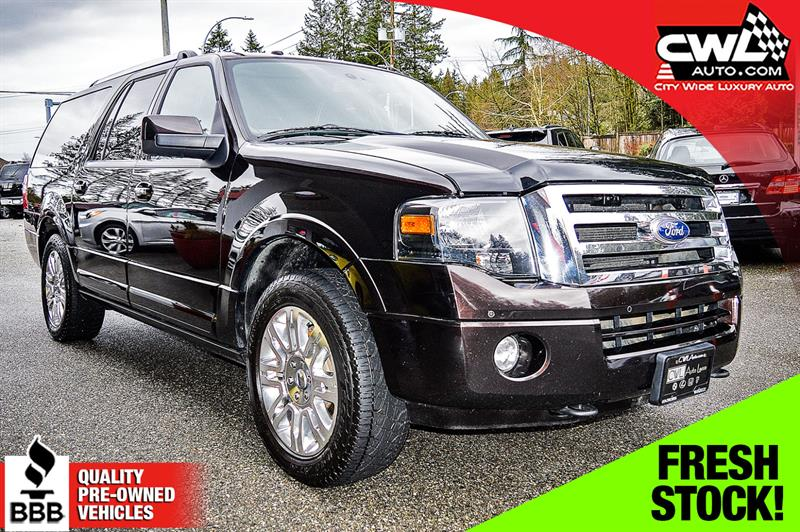 2013 Ford Expedition Max 4WD 4dr Limited - 8 PASS #CWL8281M